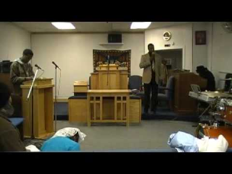 Minister Douglas Bell III (Lift up a standard for the People) Part#2