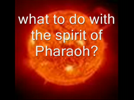 What then is the meaning of Pharaoh?