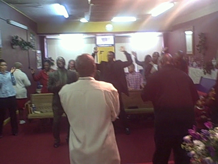 HOLY GHOST REFRESHMENT