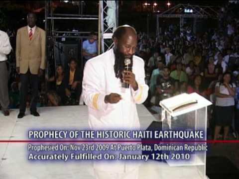 Haiti Earthquake Prophecy-Dr Owour