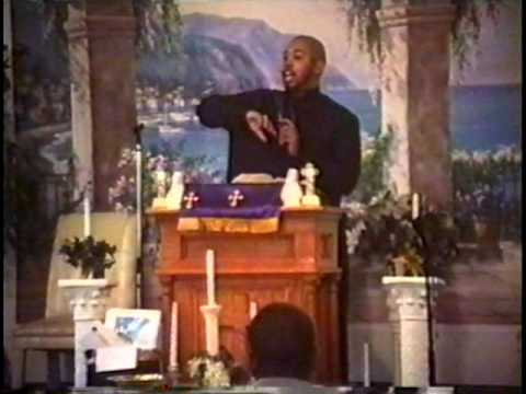 Overseer F.E. Jones Jr. Preaching