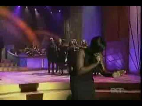 Fantasia singing Total Praise