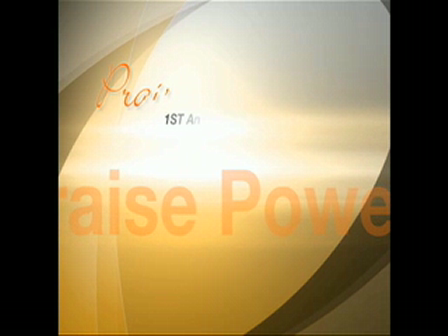 PraisePower2009 DVD CorporateSponsorPresentation