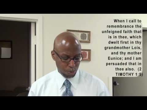 GOD HAS NO GRANDCHILDREN (Encouraging Word)