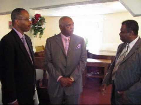 Rev Wright SR. and Rev Wright JR. Interview wit Bishop W.C. Mcclinton