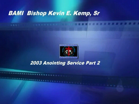 BAMI Pastors & Leaders Anointing Service Part 2