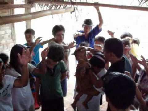 CHILDREN FEEDING HERE IN MINDANAO PHILIPPINES