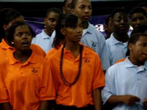 Southwest Distrct Youth Choir of Arkansas-Shout Hallelujah Showcase 2008