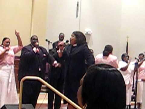 Elder Tina Morriar Singing and Exhorting