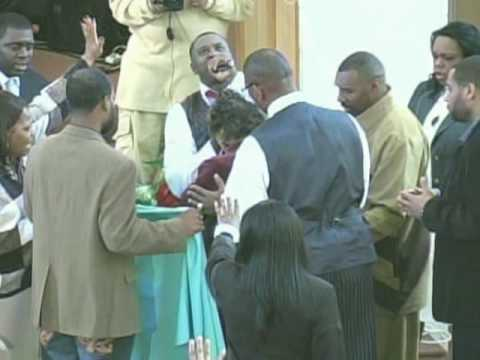 REDEEMED CHRISTIAN CENTER (Laying Hands/Prophesy) PT.2