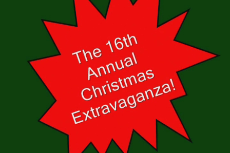 PREPARING FOR THE 16TH ANNUAL CHRISTMAS EXTRAVAGANZA 2010!