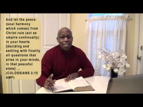 HAVE PEACE ABOUT IT (Encouraging Word)