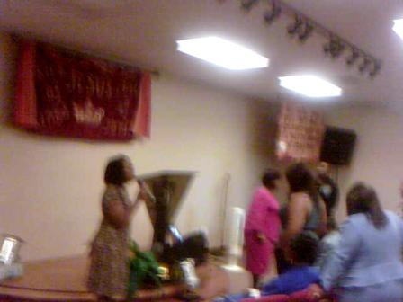 Ministering In Prayer