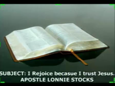 I Rejoice Because I Trust In Jesus