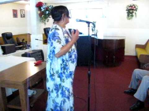 """""""Inspirational Hour BY: Sis. Gloria Thomas MSW~7/3/11~""""There is Hope for Oakland,Ca"""