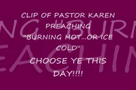 """""""BURNING HOT...OR ICE COLD"""""""