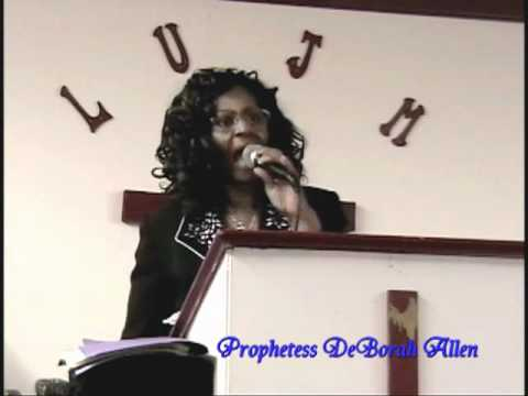 Prophetess DeBorah Allen - Nothing Matters But Love