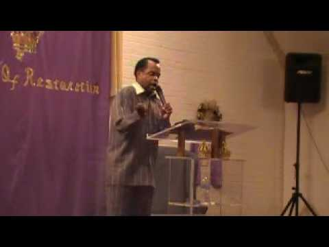 """Apostle Kelvin Hall Live In Lafayette, La """"Be A Son First"""" Pt. 4"""