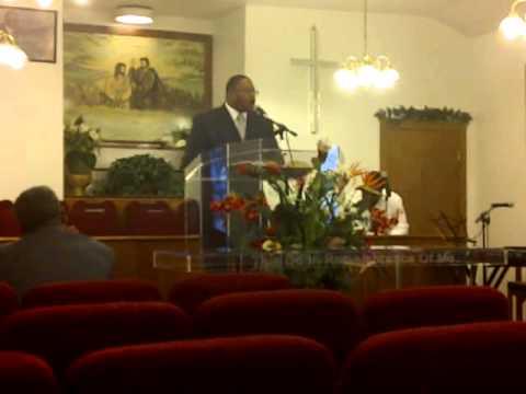Pastor Leotis Crow, Sr. Now Unto Him part I