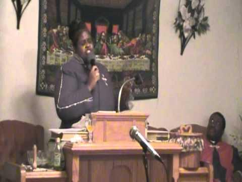 Apostle De-Borah Champion preaching in Dayton, OH  ~1_1