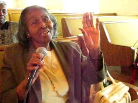 """Mother Elsie Bullock Singing Love Lifted Me!!~10/30/11~~"