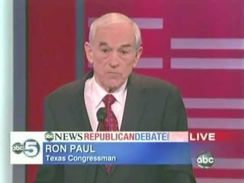 All Of Ron Paul's Responses At The ABC Iowa GOP Debate