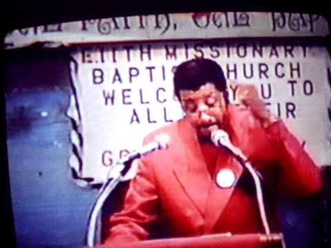Sermon How To Deal With Impossibility part 1 by Rev.Horace Hughes.AVI
