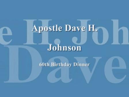 Apostle Dave H