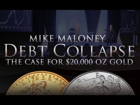 Debt Collapse - $20,000 Gold - Mike Maloney On Gold, Silver & Economics