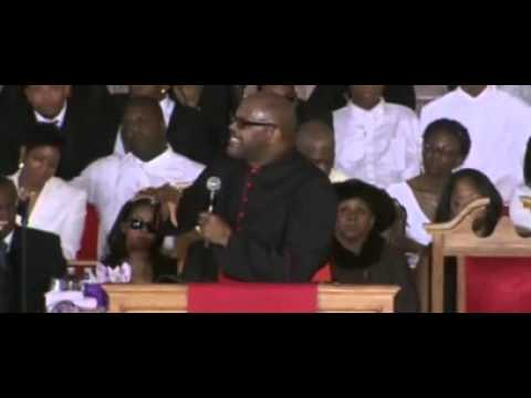 Marvin Winans Eulogy (2) at the Funeral of Whitney Houston by First Day Church Atlanta
