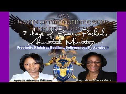 2012 AWA  Women Of The Prophetic Word