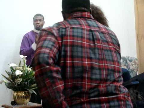 "Bishop Boyde Singletary @ Queens ""hold on""pt3"