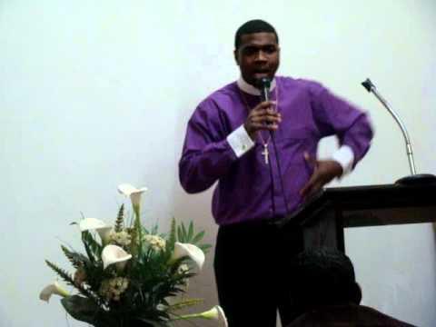 "Bishop Boyde Singletary @ Queens ""hold on"" pt1"