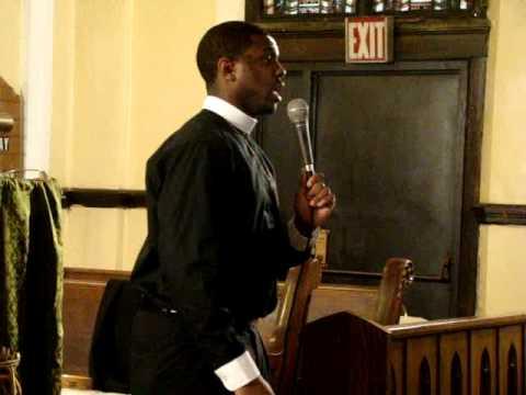 "Bishop Boyde Singletary ""it hurt me but it helped me"" pt3"