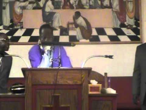 Pastor Harold Thomas-The power of a Determine Mine close