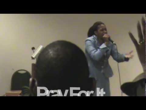 Prophetess Odessa Moton/PRAY FOR IT  PT 3