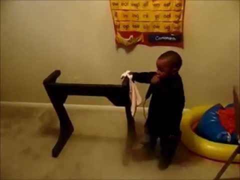 Caleb  Robinson   3 Years Old Apostle Alfred Henton's Grandson