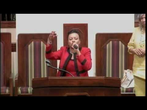 "Rev. Dr. Jasmin Sculark preaching ""I Never Lost My Praise""  Pt. 3"