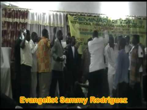 SAMMY RODRIGUEZ IN ACCRA AFRICA