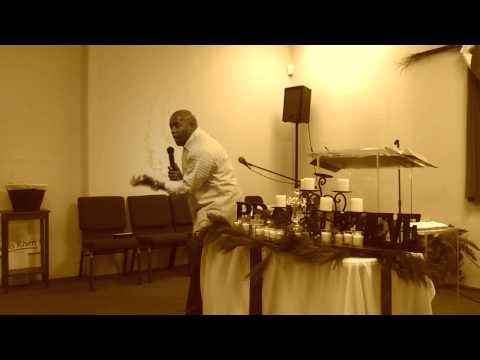 "Pastor D.J. teaching on ""The move of God"""