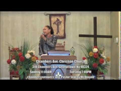 Jesus Saves - Pastor Stacey McDonald
