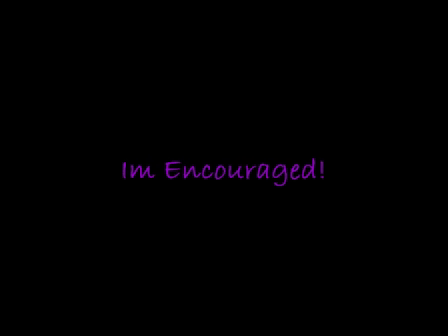 Im encouraged