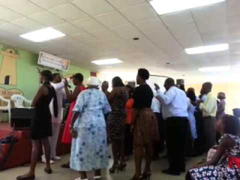 Prophet J.Browne @Church Of God 2013
