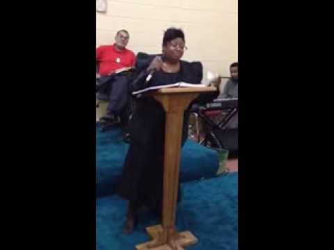 Evangelist Tracy Carzell part 1