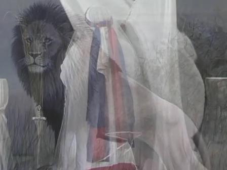 The Bridegroom is Veiling His Bride