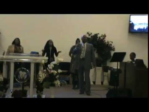 Singing: Goin' Up Yonder by Minister Lee Rice @ Lively Hope C.O.G.I.C.
