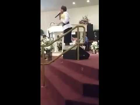 Apostle Mary L. McMiller Small clip from gretna fl 1- Annual Women's Day