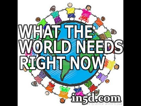 Global Unity Project: What The World Needs Right Now -- MIRROR & SHARE!!