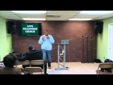 "Pastor Jason Roberts, ""WAKE UP"" Love Fellowship Church International"