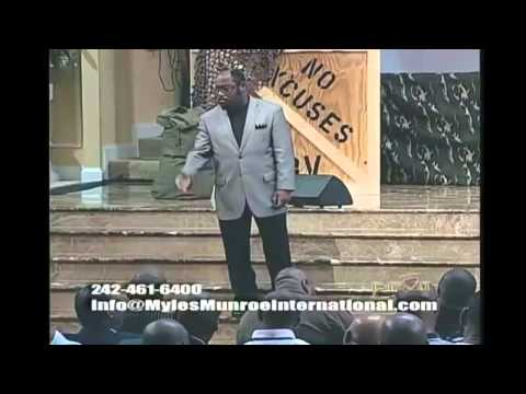 Dr Myles Munroe - MANHOOD  (A MUST WATCH FOR ALL MEN)